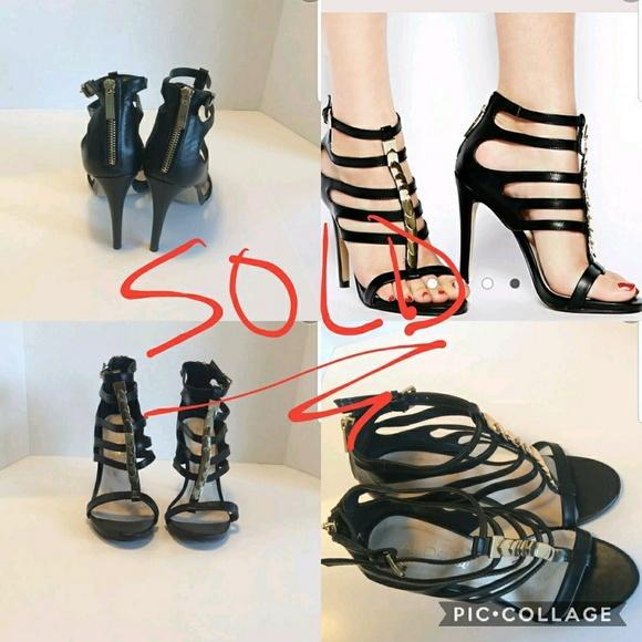 Aldo scarpe   Radville Metal Detail  Caged Heel Size 8  Detail  Poshmark 4c8503